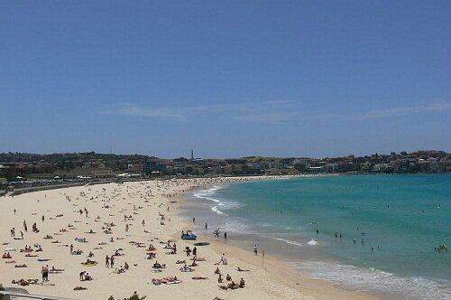 Bondi Beach New South Wales Australia The Most Beautiful Christmas Place in the World