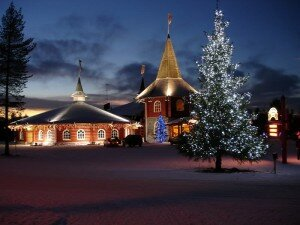 santaklausvillage 300x225 The Most Beautiful Christmas Place in the World