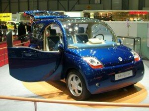 the bollor bluecar