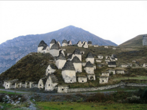 City of the Dead in North Ossetia, Russia