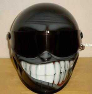 The Black Mask 294x300 The Most Creative Helmets  Design