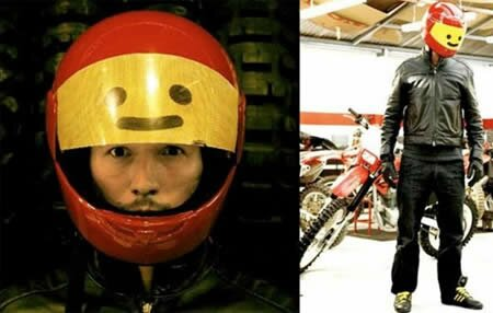The Most Creative Helmets Design The Lego The Most Creative Helmets  Design