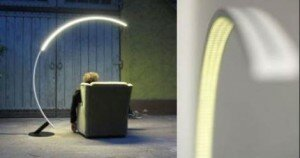 the most unique lamp design Troja arc lamp