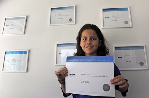 the youngest engineer in the world marco calasan with certificate