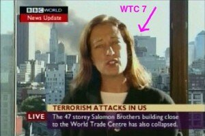 """BBC live report on the WTC tragedy"""