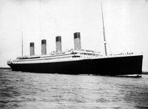 Titanic ship on the sea 300x221 10 Interesting Facts About Titanic
