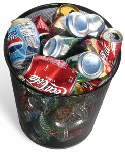 alumunium cans 10 Interesting Facts About Recycling