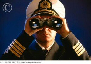 captain of the ship looking from binocular 300x212 10 Interesting Facts About Titanic