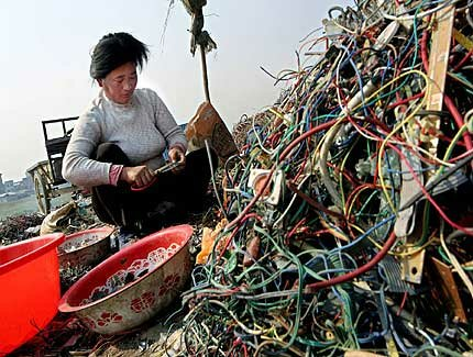 """recycling in china"""