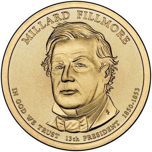 Money facts: Millard Fillmore
