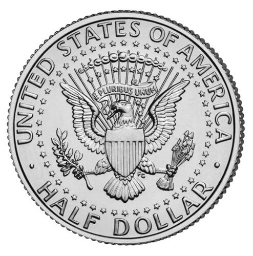Money facts: half dollar coin