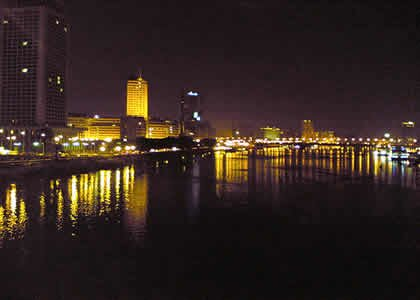 Nile river facts nile river at night 10 Interesting Nile River Facts