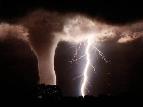 Tornado facts Multiple tornados 10 Interesting Tornado Facts