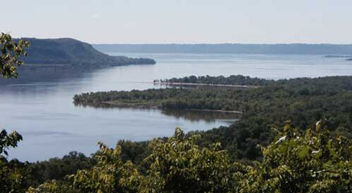 Mississippi River facts Lake Pepin 10 Interesting Mississippi River Facts