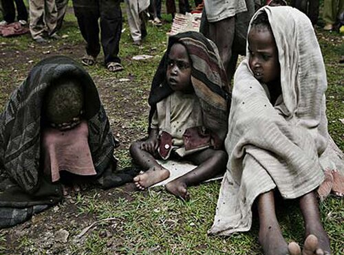 Poverty facts: famin in ethiopia