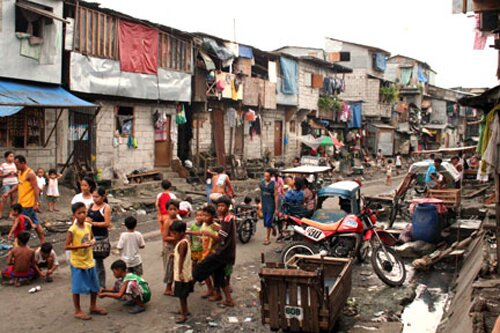 Poverty facts: people in slum