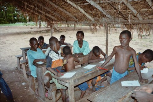 Poverty facts: school in africa