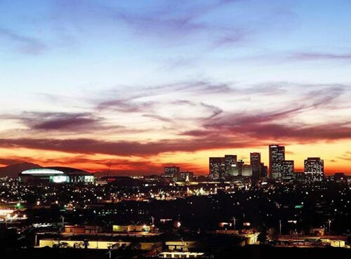 Arizona facts: Phoenix Skyline