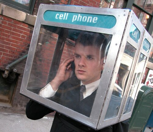 Cell phone facts: funny person