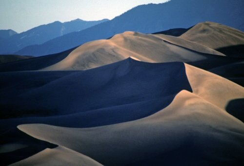 Colorado facts: sand dune