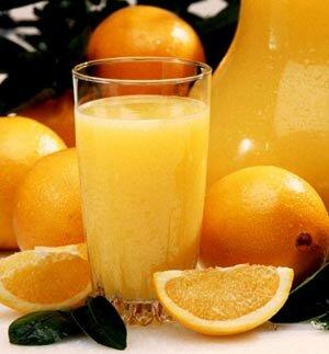 Orange facts: orange juice