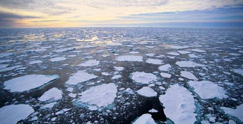 Climate change facts: melting ice