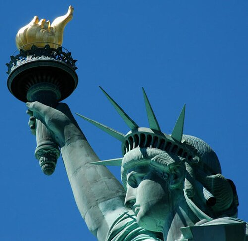 Facts about copper: statue of liberty
