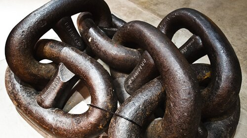 Facts about iron: chain