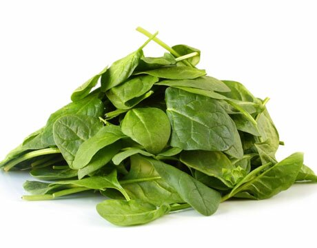 Facts about iron: spinach with iron