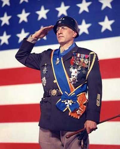 Facts about veteran day: George Patton and flag