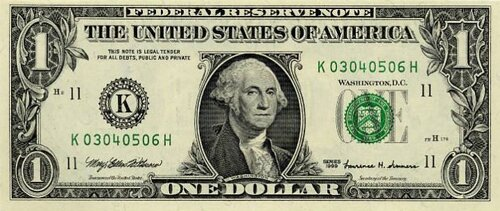 George Washington facts Washington paper money 10 Interesting George Washington Facts
