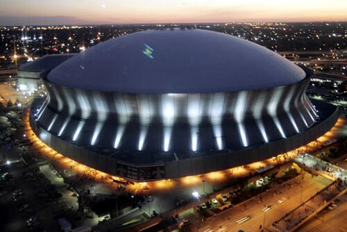 Louisiana facts: Superdome