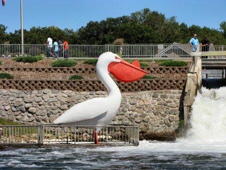 Minnesota facts: Mill Pond dam