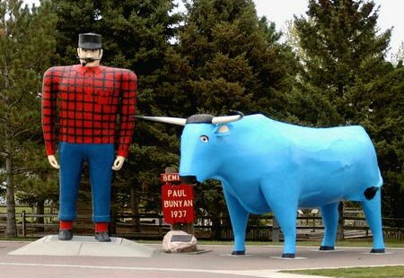 Minnesota facts: Paul Bunyan Statue