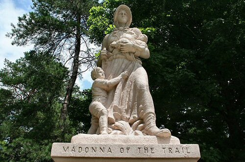 Missouri facts: Madonna of the Trail