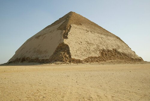 Pyramid facts Bent Pyramid 10 Interesting Pyramid Facts