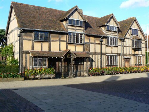 Shakespeare facts: birthplace Stratford