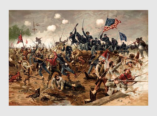 Civil war facts : Civil War Battle