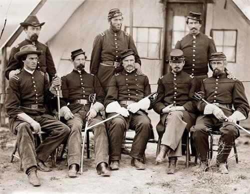 Civil war facts: Civil War Officers