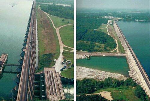 Oklahoma facts: Pensacola Dam