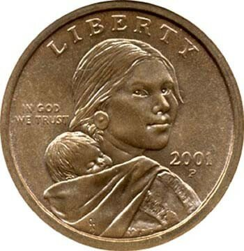 Sacagawea facts coin 10 Interesting Sacagawea Facts