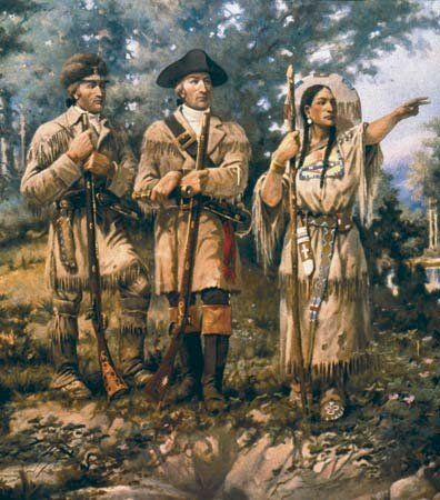 Sacagawea facts: exploration