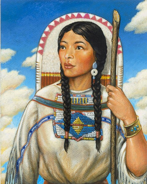 Sacagawea facts sacagewea 10 Interesting Sacagawea Facts