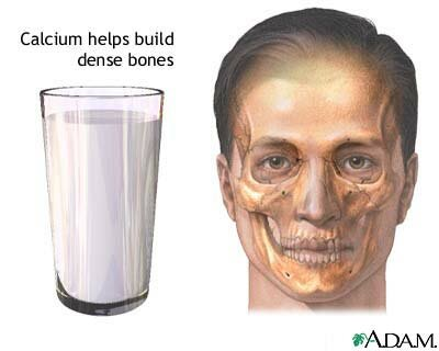 Calcium facts: benefit