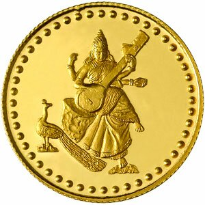 Gold facts: gold coin