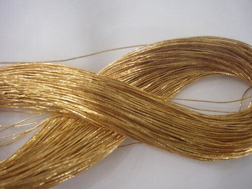 Gold facts: gold thread