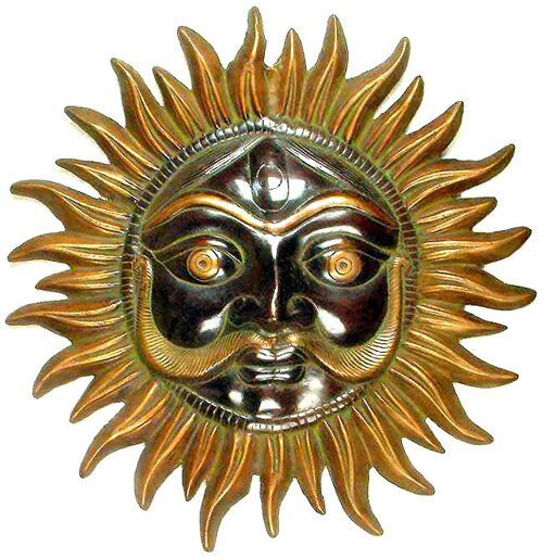 Gold facts: sun god