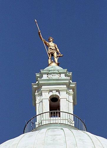 Rhode Island facts: Independent Man