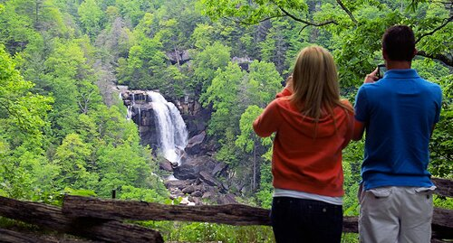 South Carolina facts Upper Whitewater Falls 10 Interesting South Carolina Facts
