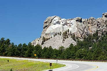 South Dakota facts: Mount Rushmore